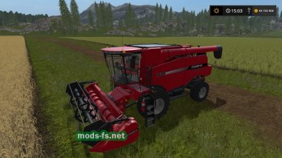 Мод «CASE IH AXIAL-FLOW X130 SERIES»