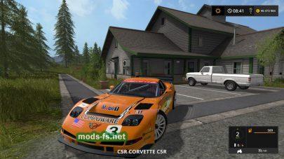 Скриншот мода «CorvetteC5RRacing»