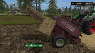 Небольшой тюкопресс для Farming Simulator 2017