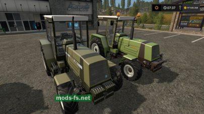 Мод трактора FortschrittZT З2З-A