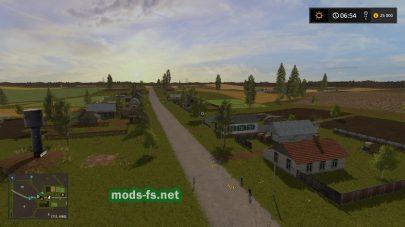 Скриншот мода карты «Borki Agro»