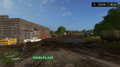 Скриншот карты «СибАгроКом»