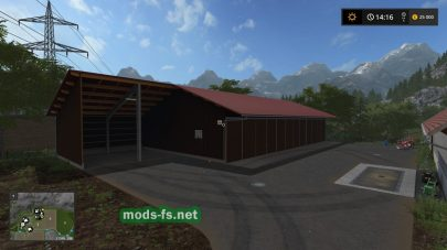 Gamsting Map в игре FS 17