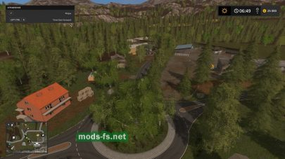 Мод игровой карты «NationalValley» для Farming Simulator 2017