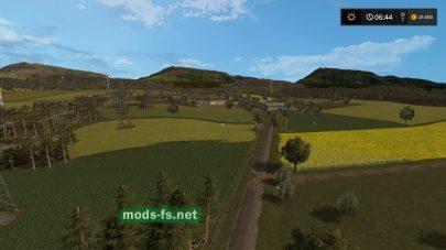 Игровая карат Польши для Farming Simulator 2017