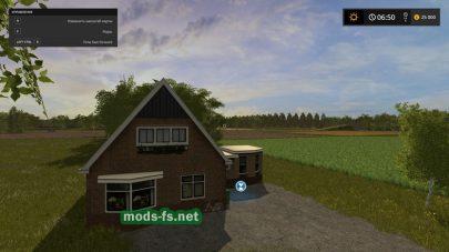 Дом на карте Drenthe в игре ФС 17