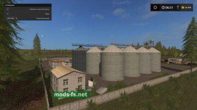 Цистерны для хранения зерна в FS 17