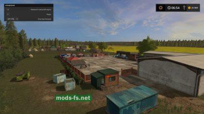 Русская ферма в игре Farming Simulator 2017