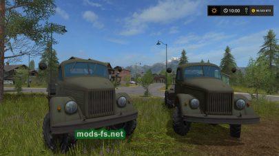 gaz-63 в игре FS 2017