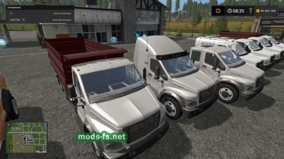 Пак грузовиков «ГАЗонNEXT»
