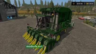 Мод John Deere 7760 Cotton Picker Fixed (Final)