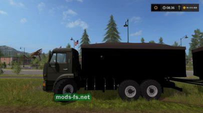 Мод грузовика КамАЗ-53212
