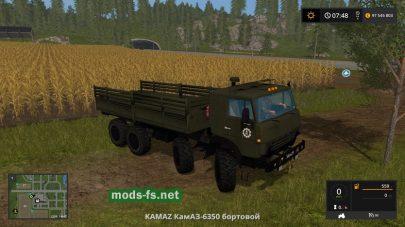 Мод КамАЗ-6350 (пакReworked)