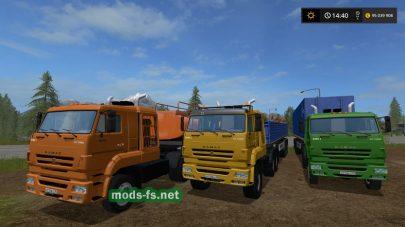 КамАЗ-65226 mods