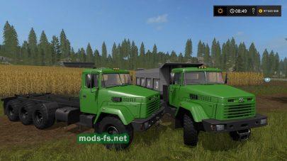 FS17 KrAZ 7140 Pack