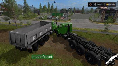 КРАЗ-7140 для Farming Simulator 2017