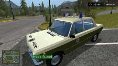 Скриншот мода «LadaVolkspolizei»