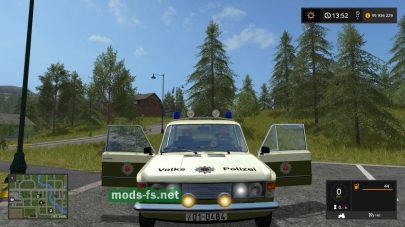 Автомобиль LadaVolkspolizei для FS 17