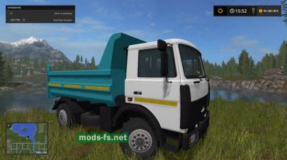 МАЗ-5551 в FS 2017