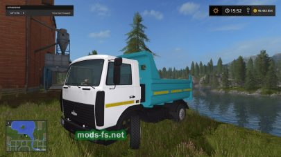 Мод грузовика МАЗ-5551