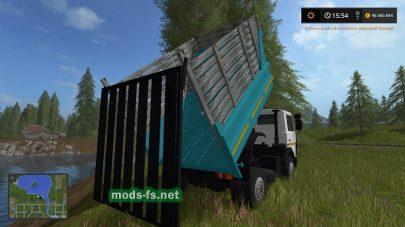 Самосвал МАЗ-5551 с бортами