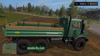 Мод грузовика Мерседес