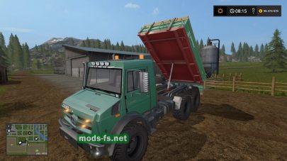 MB UNIMOG 5050 mods
