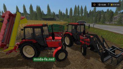 Мод на трактор mtz-82 ts