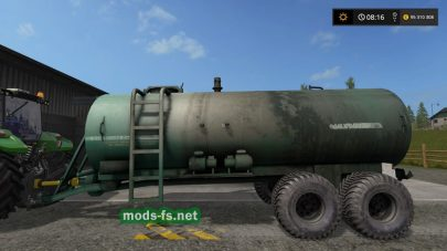 Модификация бочки МЖТ-16