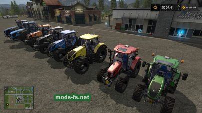 Мод тракторов New Holland T9.565