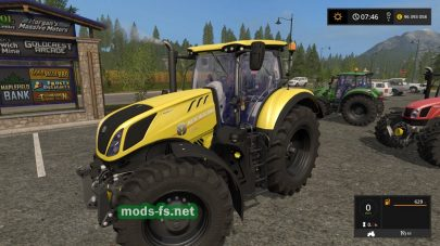 Мод пак тракторов NewHolland