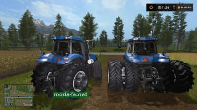 Newholland T8BR mod