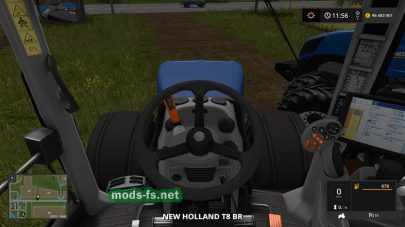 Скриншот мода «NewhollandT8BR»