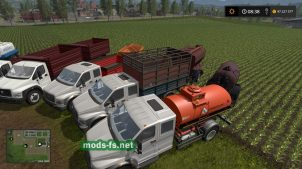 Моды грузовиков «Газон NEXT»