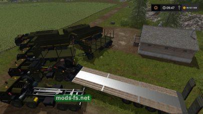 KRAZ 6316 для Farming Simulator 2017