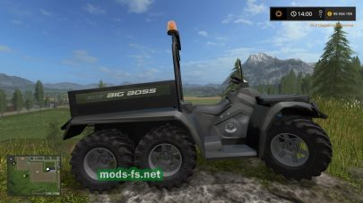Polaris Sportsman Big Boss mod FS 17
