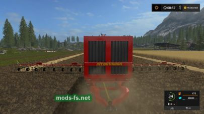 Мод на прицеп подборщик для игры FS 17