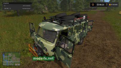 Мод грузовика УАЗ-3741
