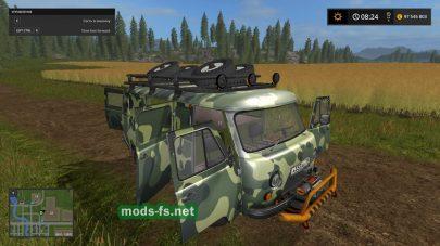 Легковой автомобиль uaz-3741
