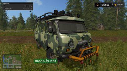 Скриншот мода «uaz-3741»