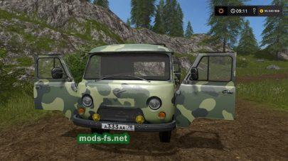 Скриншот мода «uaz-3909»