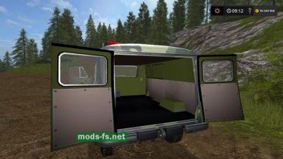 uaz-3909 mods