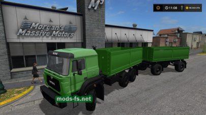 Мод грузовика URAL-M