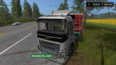 Скриншот мода «VolvoFH»