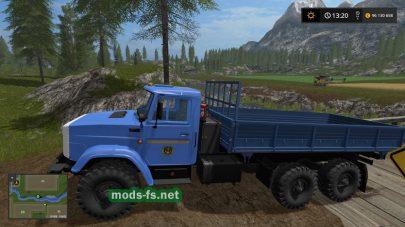 Мод грузовика ЗИЛ-4334