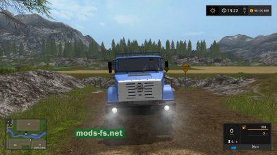 ЗИЛ-4334 в игре Farming Simulator 2017