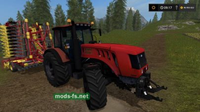 Беларус 3022 для Farming Simulator 2017