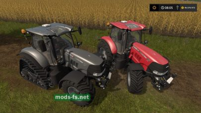 Трактор Case для Farming Simulator 2017