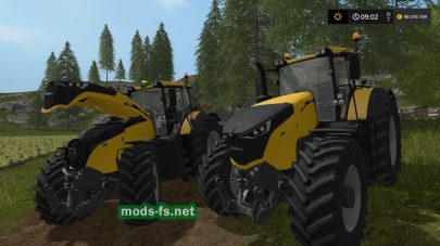 Challenger1000Seriesдля Farming Simulator 2017