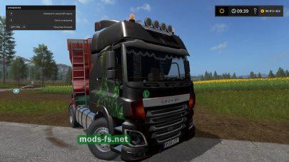 Скриншот мода «DAF 95AbstractColor»